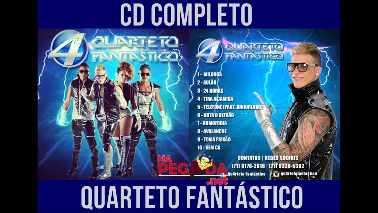 cd quarteto fantastico