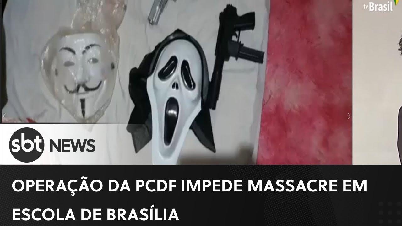 PCDF e Policiais do EUA evitam massacre em escola de Brasília