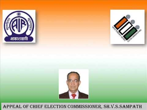 APPEAL OF CHIEF ELECTION COMMISSIONER OF INDIA,SH V S SAMPATH