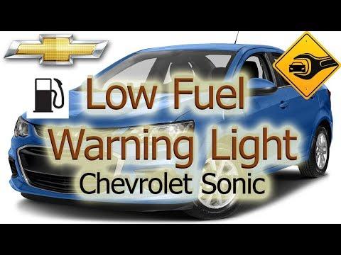 Low Fuel Warning Light | Chevrolet Sonic