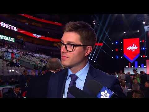 Maple Leafs Draft Central: Kyle Dubas - June 23, 2018
