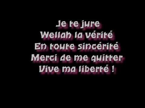 oulahlo paroles de vive ma liberte