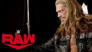 Edge celebrates his return to Raw with a photo shoot: Raw Exclusive, Jan. 27, 2020
