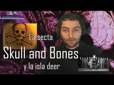 La secta Skull and bones y la isla deer