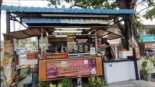 槟城必吃特色汉堡包鸡蛋芝士马铃薯超美味街边美食 Penang must eat oblong special burger street food