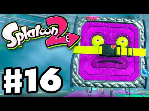 Splatoon 2 - Gameplay Walkthrough Part 16 - The Octostomp Returns! Boss Fight! (Nintendo Switch)