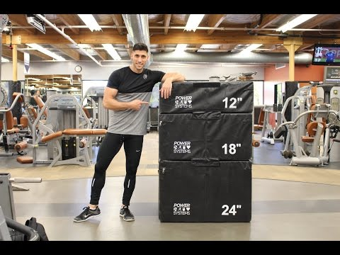Box Jump Routine for Speed & Explosion