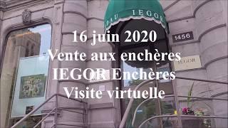 IEGOR Encheres - Vente du 16 juin 2020 - Exposition