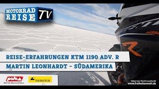 KTM 1190 Adventure R - Tipps & Empfehlungen für Fernreisende