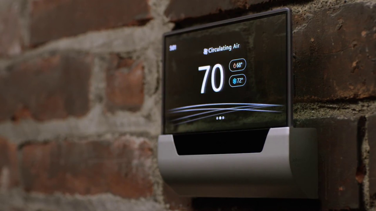 Johnson Controls reinvents the thermostat - YouTube
