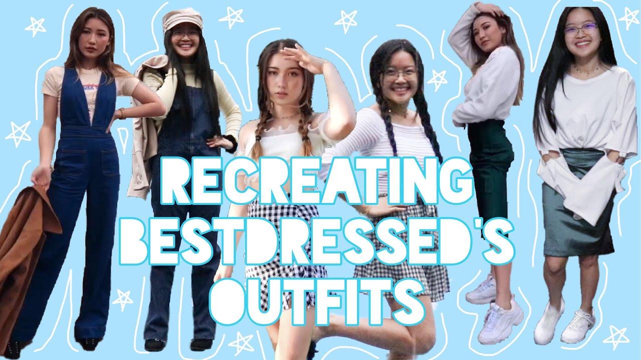 [VIDEO] - Recreating/copying bestdressed's outfits for a week | spring break OOTW ✨ 5