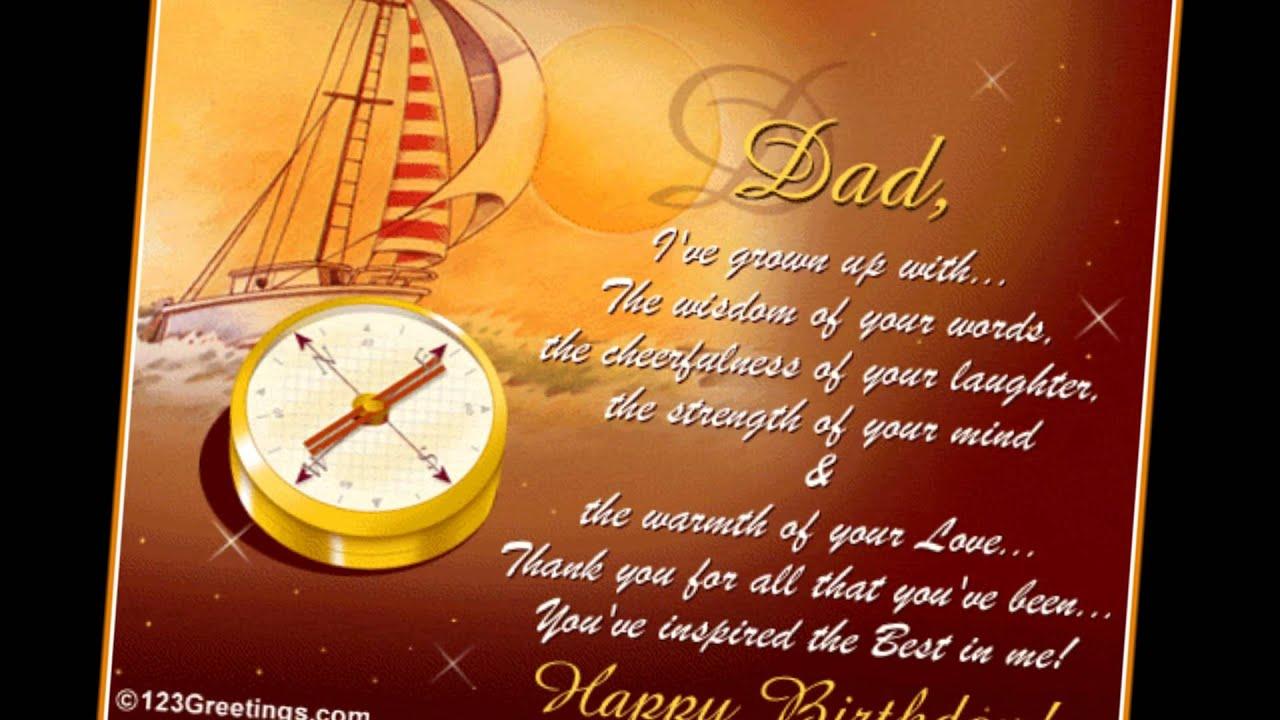 Birthday Card Happy Tatay