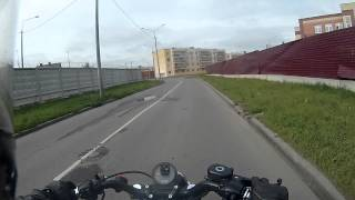 Harley-Davidson 48 in Moscow: ЖК Сакраменто