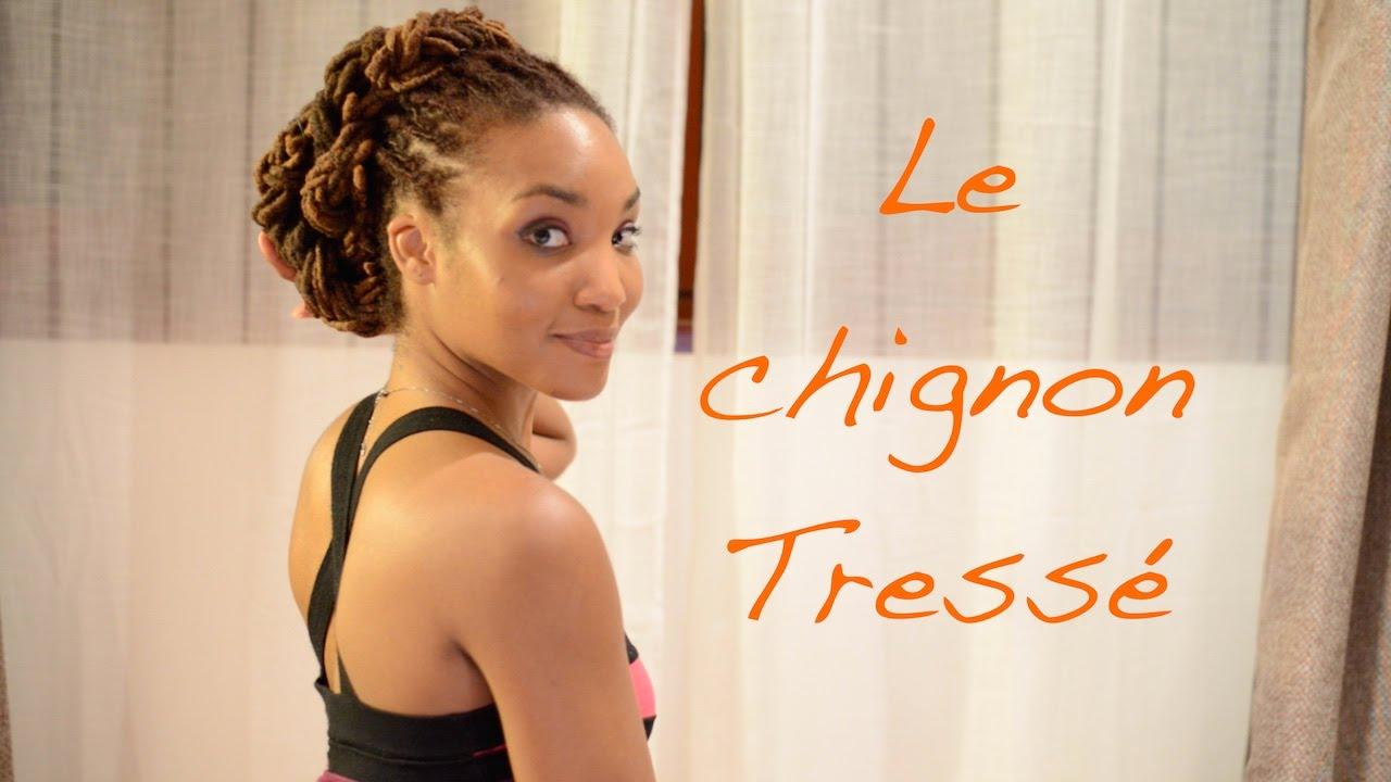 Dread Tuto Le Chignon Tresse Youtube