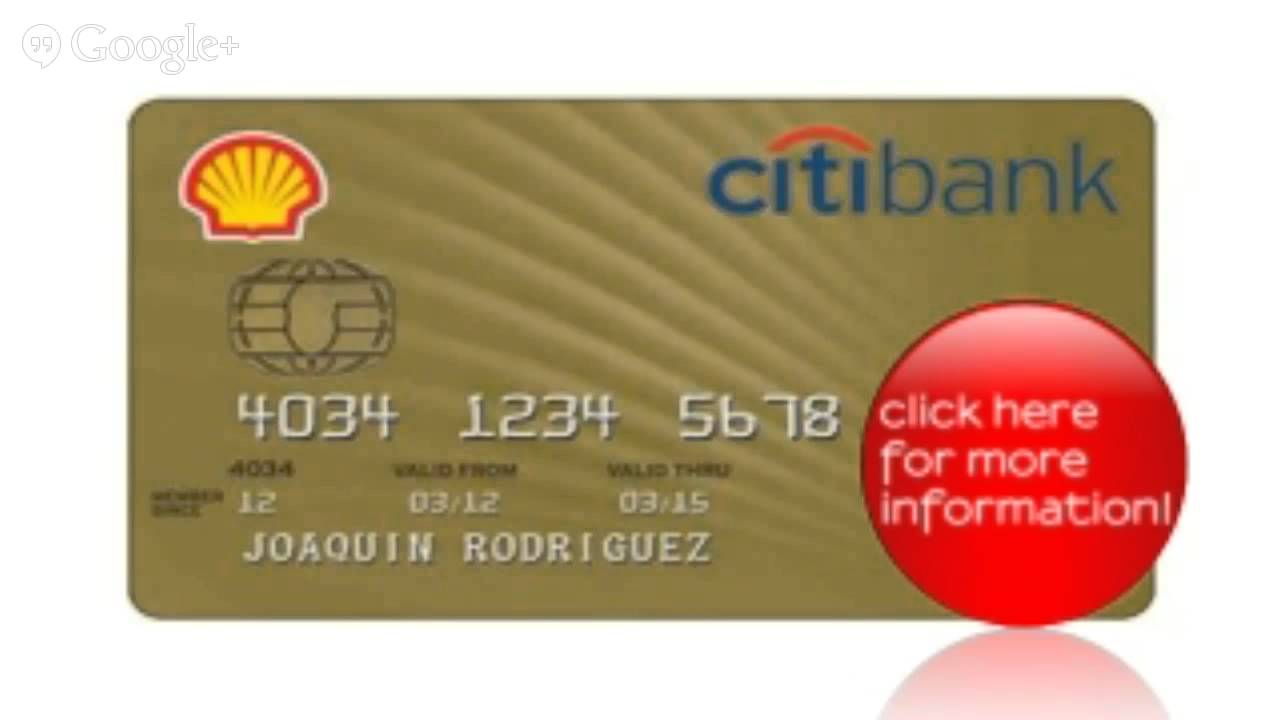 Shell Credit Card Youtube