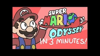 Super Mario Odyssey Explained in 3 Minutes | ArcadeCloud