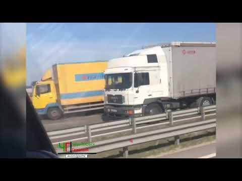 ДТП на трассе Черняховск Калининград, под Гвардейском 08 04 2020