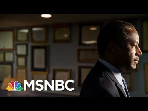 Tough Confirmation Hearing For Ben Carson | Morning Joe | MSNBC