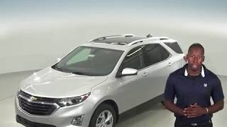 183090 - New, 2018, Chevrolet Equinox, LT, SUV, Silver,  Test Drive, Review, For Sale -