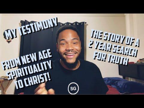 Testimony (From awakening, to new age, to Christ) ?✨✝️