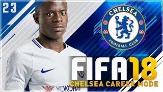Fifa 18 chelsea career mode ep23 - 1st vs 2nd!!