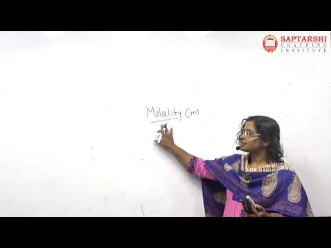 Solution And Coligative Properties Lect 2 , HSC Std 12 Maharashtra Board,NEET,JEE
