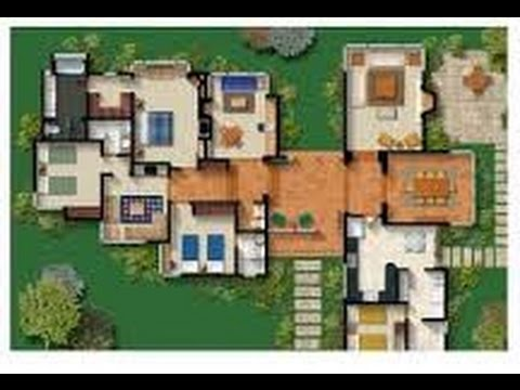 Planos de casa campestre youtube for Casas campestres modernas planos