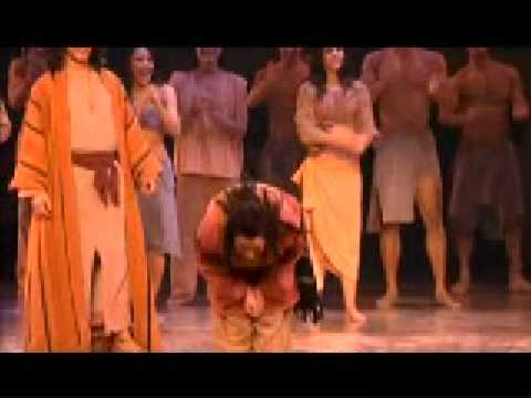 Adam Lambert  Ten Commandments Finale and Curtain Call