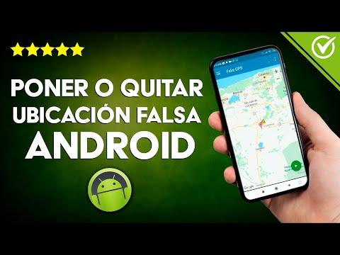 Cómo Activar o Desactivar en Android Ubicaciones Falsas Fácilmente