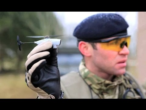 Tiny 'Pocket Drones' Micro Aerial Vehicles (MAVs) Being Built For Army