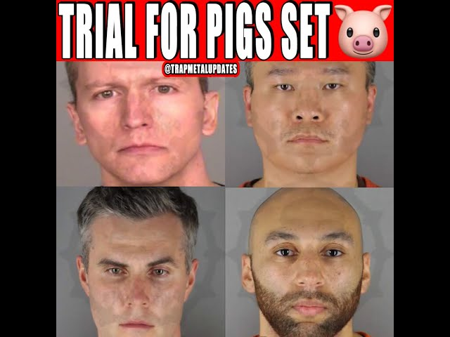 FOUR GEORGE FLOYD MURDERERS ON TRIAL MARCH 2021 #Shorts