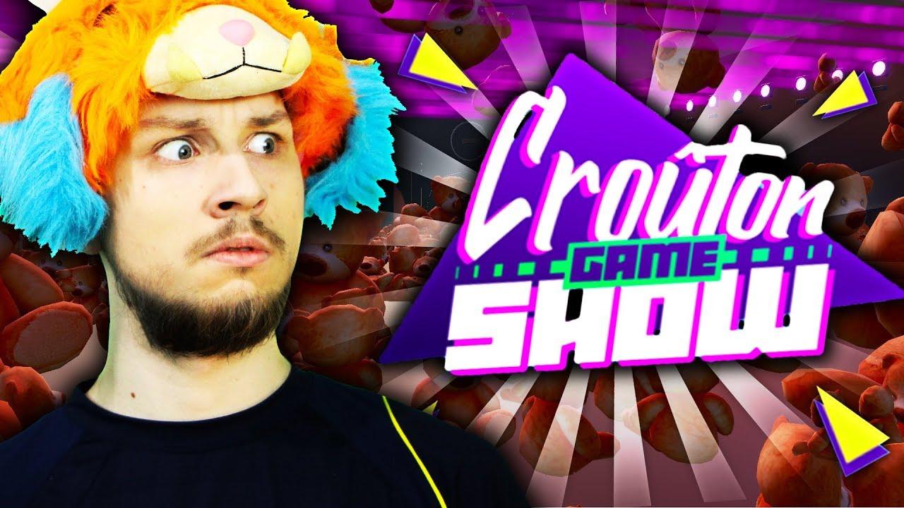 """J'ESSAYE LE PARCOURS SPECIAL """"CROUTON GAME SHOW"""" SUR FORTNITE CREATIF !"""