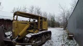 1947 Caterpillar D7 17A  Cold start