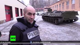 Гражданская война продолжается  жителей Донецка эвакуируют на бронетранспортерах
