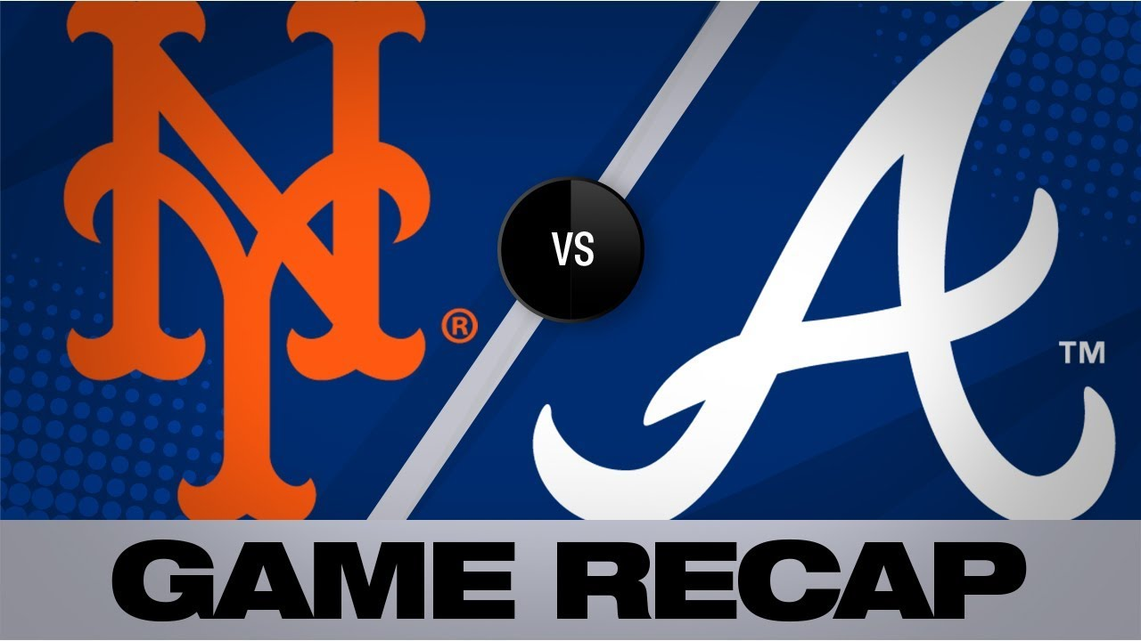 Alonso, Rosario power Mets past Braves | Mets-Braves Game Highlights 8/15/19