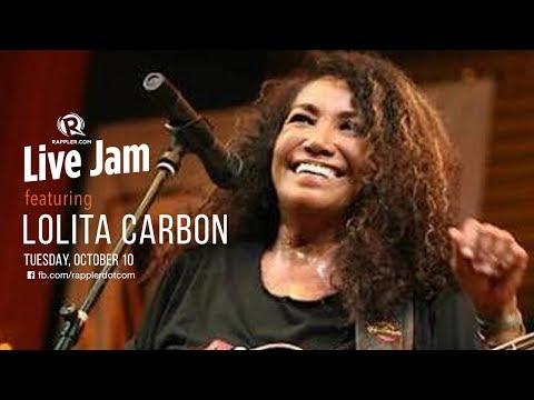 Rappler Live Jam: Lolita Carbon