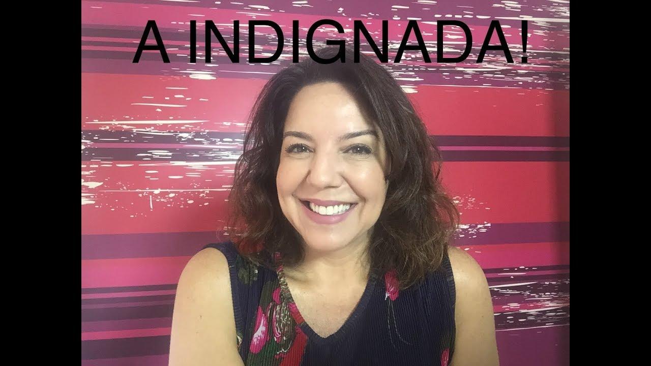 ???? A INDIGNADA AO VIVO   18/01 Luciana Liviero comenta as Notícias da Semana