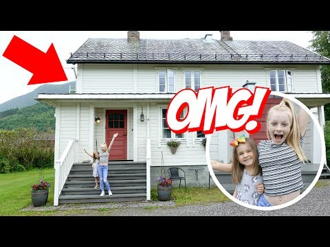 NORWEGiAN VACATiON HOUSE TOUR (hilarious!) 🇧🇻