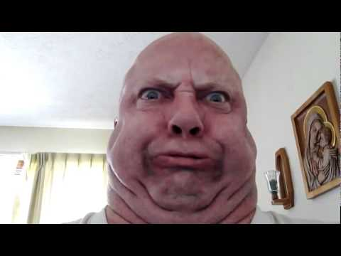 Ugly Face Guy is Mad - YouTube