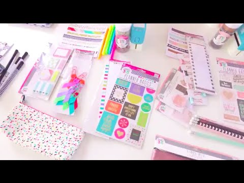 Live: NEW Happy Planner Accessories