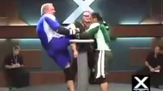腕相撲かと思いきや・・・その後驚愕の展開となるエクストリームスポーツ「X ARM(エックスアーム)」