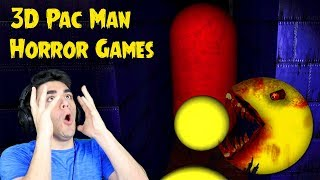 THE PACMAN GHOSTS ARE AFTER ME!!! - Free Roam Pacman Horror Games (3D Pacman & ToyBox Unleashed)