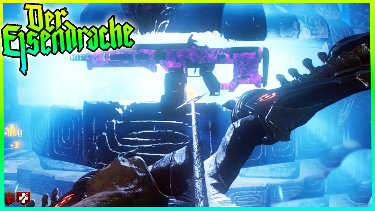 Der Eisendrache Zombies New Pack A Punch Weapon Camo Black Ops