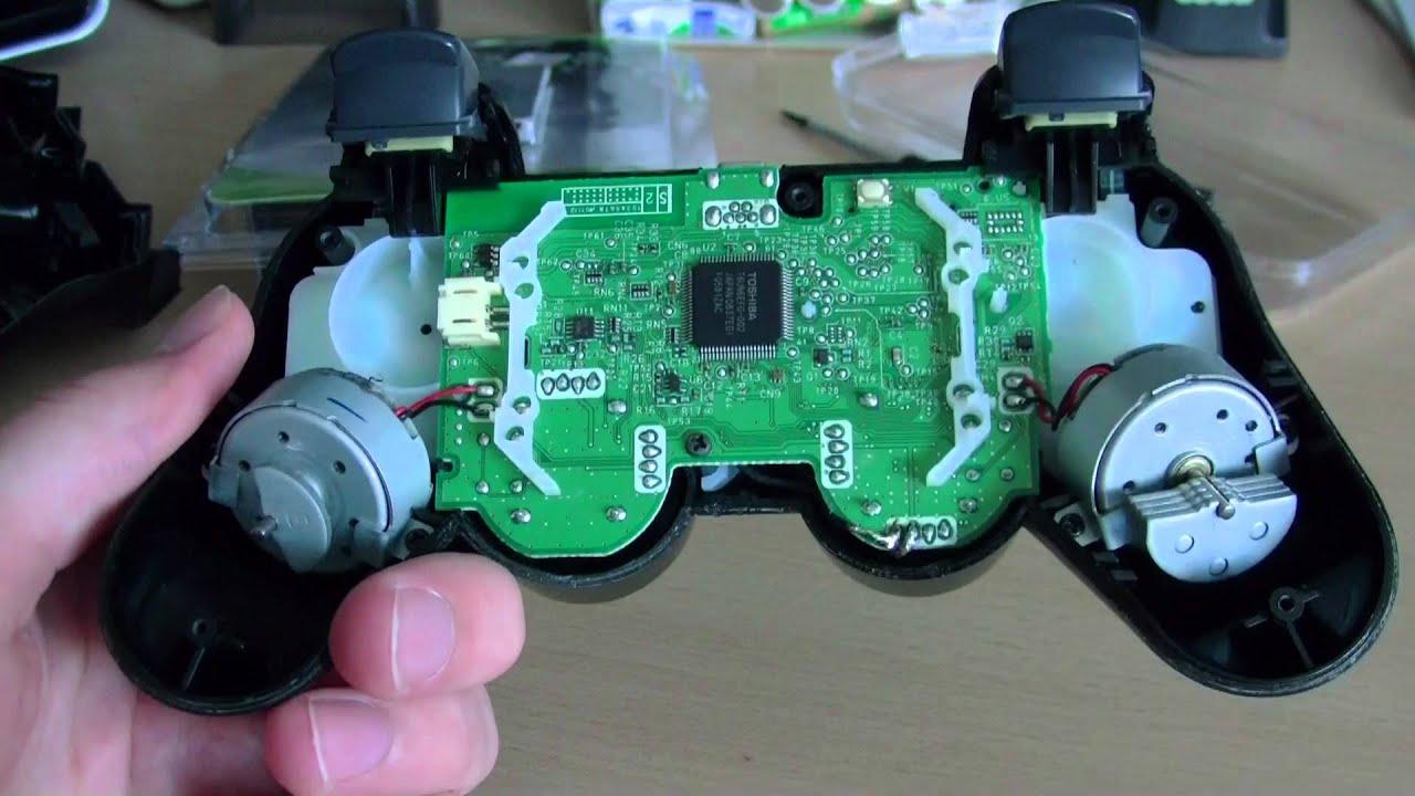 Dualshock 3 Akku wechseln / PS3 Controller Akku tauschen [HD] - YouTube