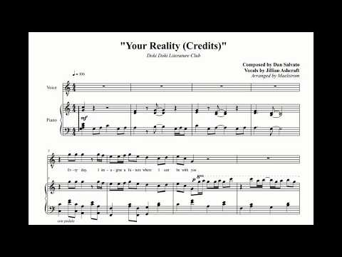 [Arrangement] Doki Doki Literature Club - Your Reality (Credits)
