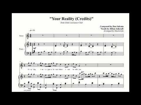[Arrangement] Doki Doki Literature Club - Your Reality (Credits)
