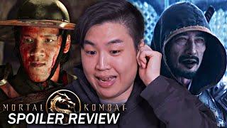 Фильм Mortal Kombat (2021) - Давайте поговорим обо всем !! [ОБЗОР СПОЙЛЕРА]