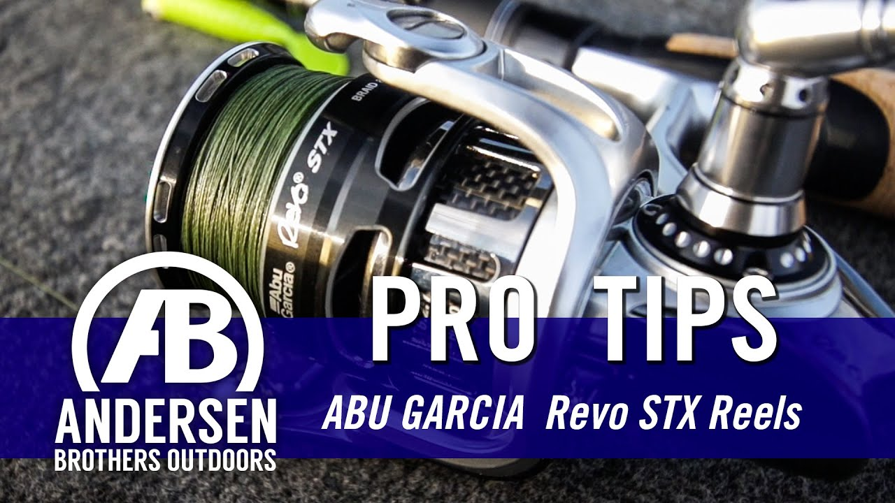 New Fishing Reel - Abu Garcia Revo STX