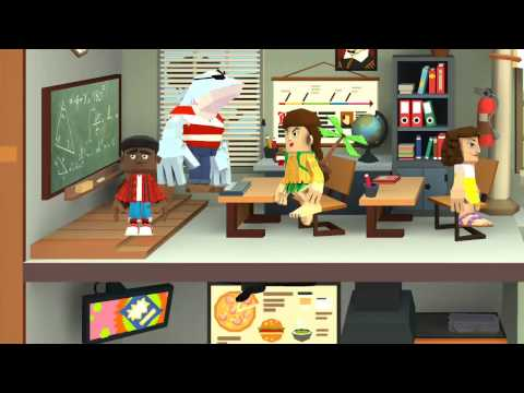 Toontastic cartoons  school