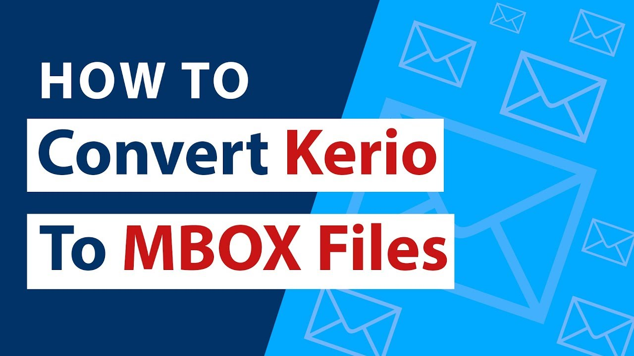Kerio to MBOX Converter Wizard to Export Kerio Mailboxes to MBOX Files ?